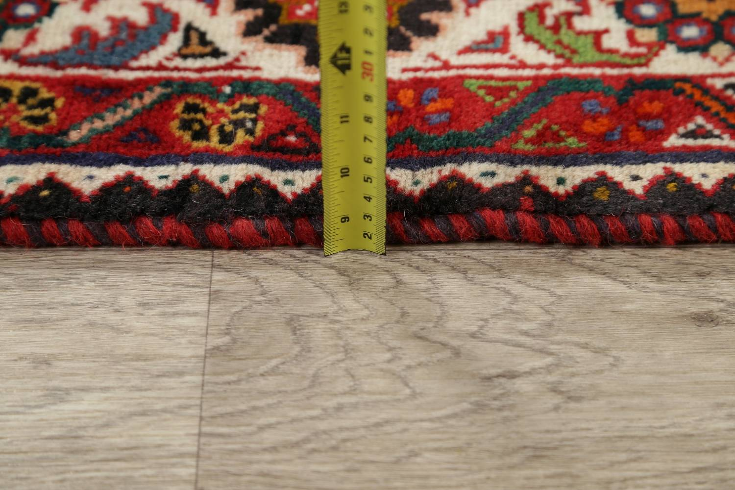 Animal Pictorial Kashkoli Persian Hand-Knotted 7x9 Wool Area Rug image 18