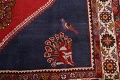 Animal Pictorial Kashkoli Persian Hand-Knotted 7x9 Wool Area Rug image 7