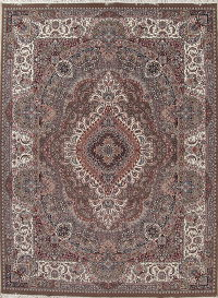 Floral Brown Oushak Turkish Oriental 10x13 Area Rug