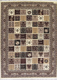 Garden Design Bakhtiari Turkish Oriental 10x13 Acrylic Wool Area Rug