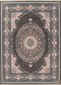 Floral Hereke Turkish Oriental 10x13 Acrylic Wool Area Rug