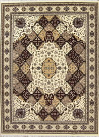 Geometric Aubusson Turkish Oriental 10x13 Area Rug