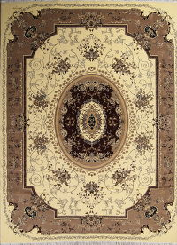 Floral Aubusson Turkish Oriental 10x13 Area Rug