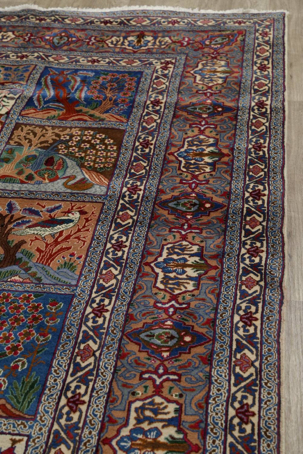 Hand Knotted 10x12 Wool Area Rug