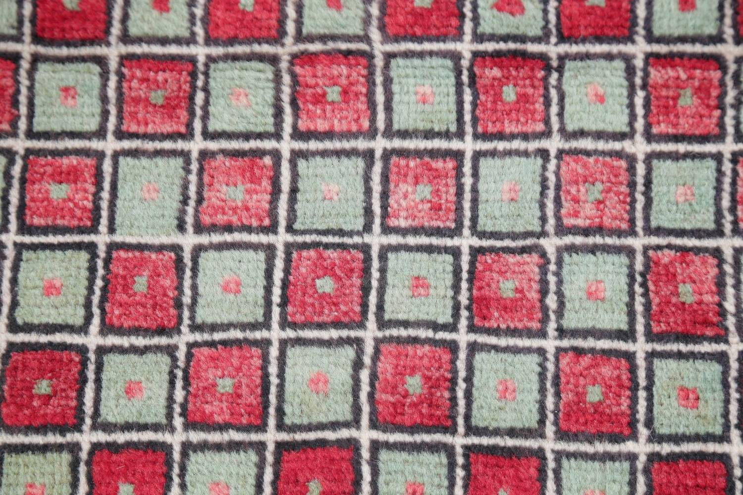 Hand Knotted 2x4 Wool Rug