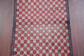 Checked Geometric Gabbeh Persian Hand-Knotted 2x4 Wool Rug image 18