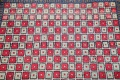 Checked Geometric Gabbeh Persian Hand-Knotted 2x4 Wool Rug image 1