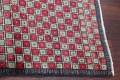 Checked Geometric Gabbeh Persian Hand-Knotted 2x4 Wool Rug image 10