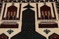 Geometric Balouch Persian Hand-Knotted 3x4 Prayer Rug image 9