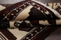 Geometric Balouch Persian Hand-Knotted 3x4 Prayer Rug image 13