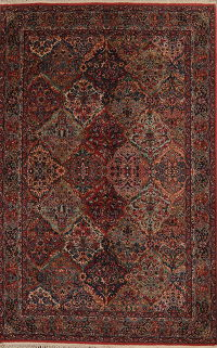 Garden Design Multi-Colored Karastan Oriental 6x9 Wool Area Rug