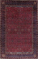 Pre-1900 Antique Floral Sultanabad Persian Hand-Knotted 12x18 Wool Rug image 1