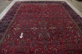 Pre-1900 Antique Floral Sultanabad Persian Hand-Knotted 12x18 Wool Rug image 16