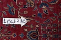 Pre-1900 Antique Floral Sultanabad Persian Hand-Knotted 12x18 Wool Rug image 17