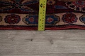 Pre-1900 Antique Floral Sultanabad Persian Hand-Knotted 12x18 Wool Rug image 28