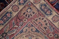 Pre-1900 Antique Floral Sultanabad Persian Hand-Knotted 12x18 Wool Rug image 30