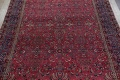 Pre-1900 Antique Floral Sultanabad Persian Hand-Knotted 12x18 Wool Rug image 3