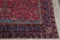 Pre-1900 Antique Floral Sultanabad Persian Hand-Knotted 12x18 Wool Rug image 6
