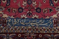Pre-1900 Antique Floral Sultanabad Persian Hand-Knotted 12x18 Wool Rug image 7