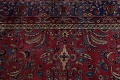 Pre-1900 Antique Floral Sultanabad Persian Hand-Knotted 12x18 Wool Rug image 12