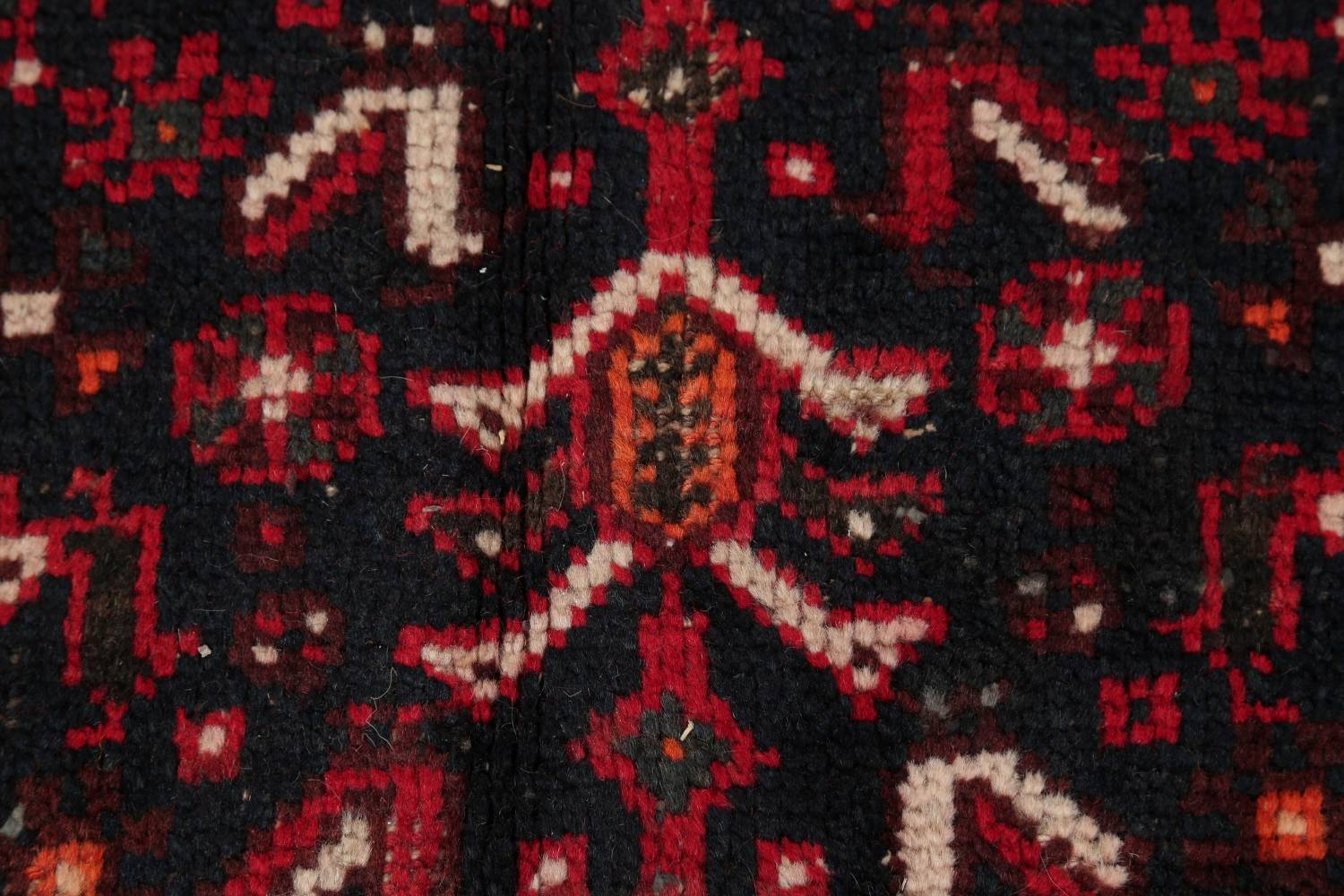 Antique Tribal Shiraz Persian Hand-Knotted 7x10 Wool Area Rug image 8