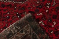 Antique Tribal Shiraz Persian Hand-Knotted 7x10 Wool Area Rug image 21