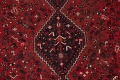 Antique Tribal Shiraz Persian Hand-Knotted 7x10 Wool Area Rug image 4