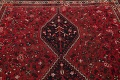 Antique Tribal Shiraz Persian Hand-Knotted 7x10 Wool Area Rug image 12