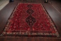 Antique Tribal Shiraz Persian Hand-Knotted 7x10 Wool Area Rug image 15