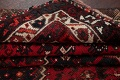 Antique Tribal Shiraz Persian Hand-Knotted 7x10 Wool Area Rug image 16