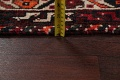 Antique Tribal Shiraz Persian Hand-Knotted 7x10 Wool Area Rug image 19