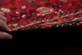 Antique Tribal Shiraz Persian Hand-Knotted 7x10 Wool Area Rug image 18