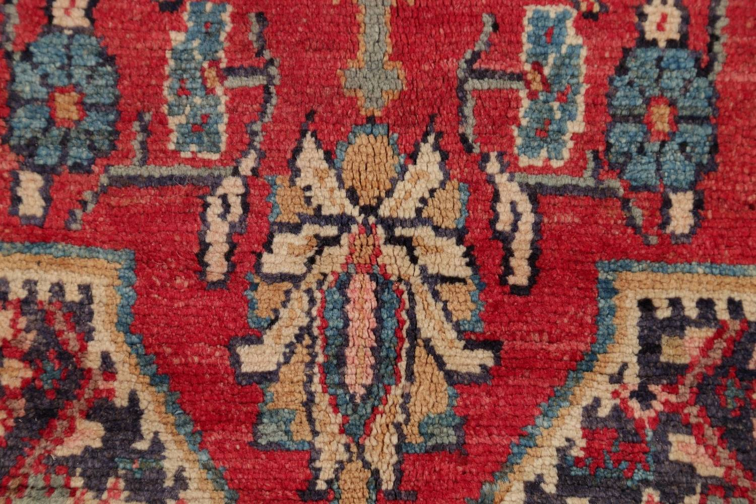 Antique Bakhtiari Persian Hand-Knotted 5x10 Wool Runner Rug image 9