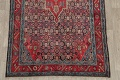Antique Bakhtiari Persian Hand-Knotted 5x10 Wool Runner Rug image 5
