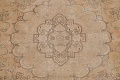 Muted Tabriz Persian Hand-Knotted 9x12 Wool Distressed Area Rug image 4