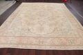Muted Tabriz Persian Hand-Knotted 9x12 Wool Distressed Area Rug image 18