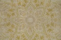 Muted Tabriz Distressed Persian Area Rug Wool 7x11 image 13