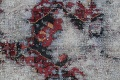 Muted Bakhtiari Persian Hand-Knotted 8x10 Wool Distressed Area Rug image 8