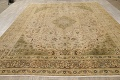 Muted Tabriz Persian Hand-Knotted 10x12 Wool Distressed Area Rug image 15