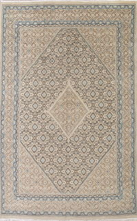 Muted Mahal Persian Hand-Knotted 10x13 Wool Area Rug