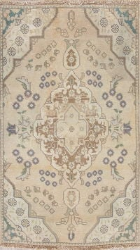 Tabriz Muted Distressed Rug 3x4