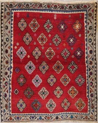 Shiraz Persian Rug 4x5