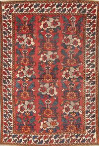 Antique Bakhtiari Persian Rug 4x6