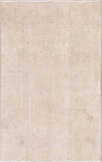 Tabriz Muted Distressed Rug 5x7