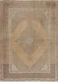 Tabriz Muted Distressed Rug 4x6