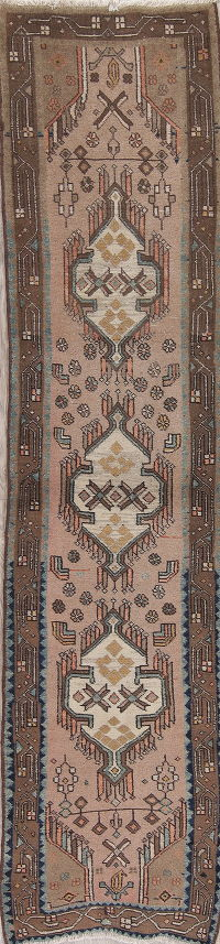 Gabbeh Shiraz Persian Runner Rug 2x10