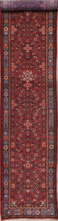 Red Malayer Persian Runner Rug 3x13