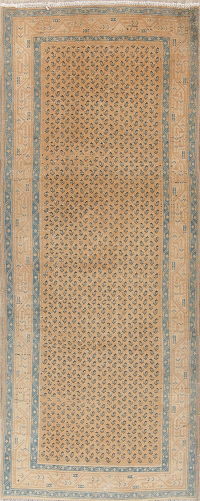 All-Over Botemir Persian Runner Rug 4x10