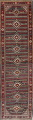 Antique Sultanabad Persian Runner Rug 3x12 image 1