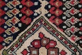 Antique Sultanabad Persian Runner Rug 3x12 image 8
